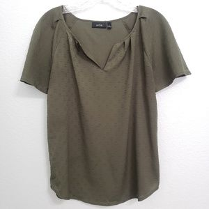 Apt.9 | Olive Green Blouse